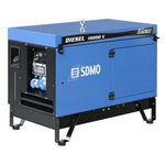Generator DIESEL 10000 E SILENCE AVR, SDMO
