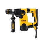 Hammer drill D25324K, SDS+, 800W + 13 mm additional chuck, DeWalt