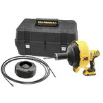 Drain cleaner DCD200, 8mm x 8m, 18V/2,0Ah, DeWalt