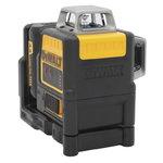 Cross line laser DCE0811LR, 2 red lines, 360°, AA batteries, DeWalt