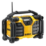 Radio/charger 10.8-18V, FM/AM, AC/DC, DeWalt
