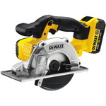 Cordless circular saw for metal DCS373M2, 18V / 4,0Ah, DeWalt