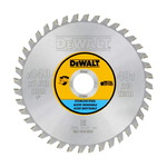 Sawblade 140x1,5x20mm, Z40, 10°. For metal, DeWalt