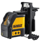 Cross line laser DW088K, 2 red lines, DeWalt