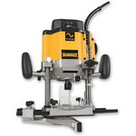 Router DW625E, 2000W, 6-12,7mm collet, DeWalt