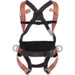FALL ARRESTER HARNESS WITH BELT HAR 14 Size L, Delta Plus