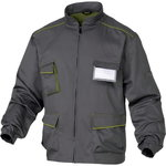 Working JACKET M6VES Grey / Green Sixe XL, Venitex