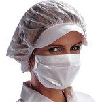 Balta higieninė kaukė, 2  sluoksnių, DELTAPLUS