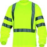 Marškinėliai ilgom  rankovėm Rudder , geltona L, Delta Plus