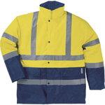 Žieminė striukė STRADA HiViz geltona/mėlyna XL, Delta Plus