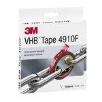 VHB 4910F akrilinė dvipusė juosta 19mm x3m skaidri, 3M