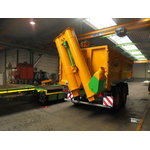 Grain trailer  Trans-SPACE with unloading auger 7500/25BC150, Joskin