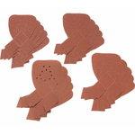 Sanding sheets for MTSA2. G80 / 120 / 180 / 240 - 20pcs, Black+Decker