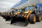 Lätis teevad tööd 19 JCB 4CX Polemaster