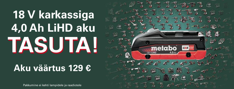 Metabo+tasuta+aku+