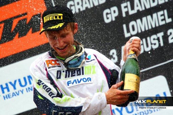 Gert Krestinov Lommeli MX2 etapivõit
