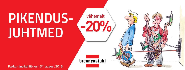 Brennenstuhl pikendusjuhtmed -20%