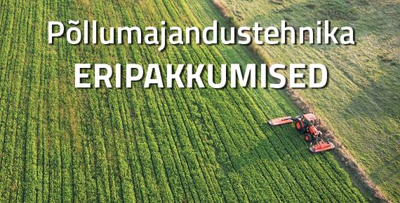 Põllumajandustehnika eripakkumised