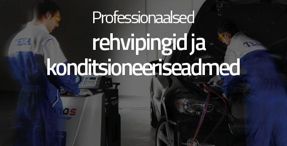 Professionaalsed rehvipingid ja konditsioneeriseadmed