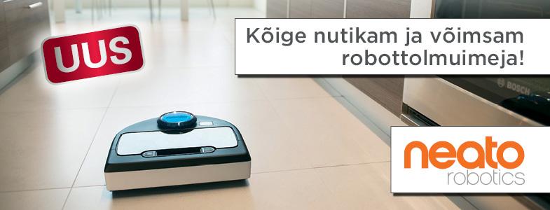 Kõige nutikam ja võimsam robottolmuimeja!