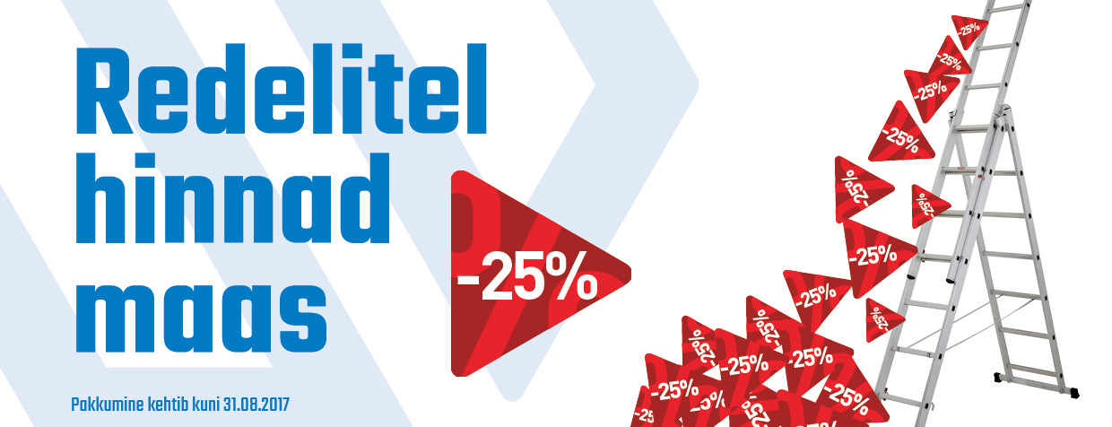 Redelid -25%
