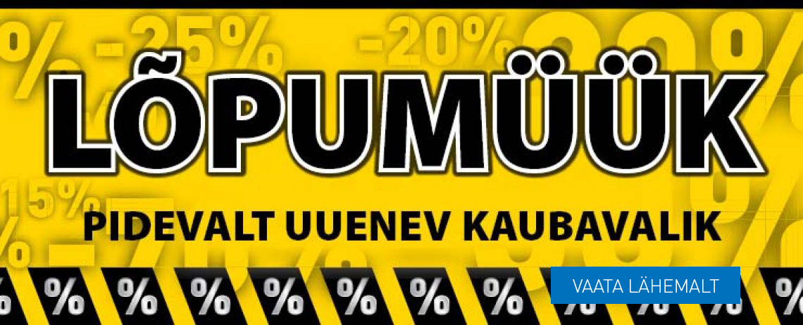 !!! LÕPUMÜÜK !!!