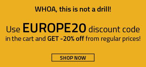 stokker.com europe20 discount code inlist
