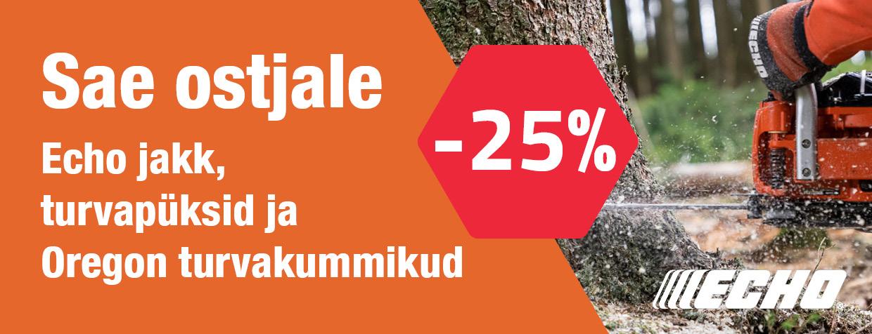 Echo+turvap%C3%BCksid+ja+jakk+-25%25