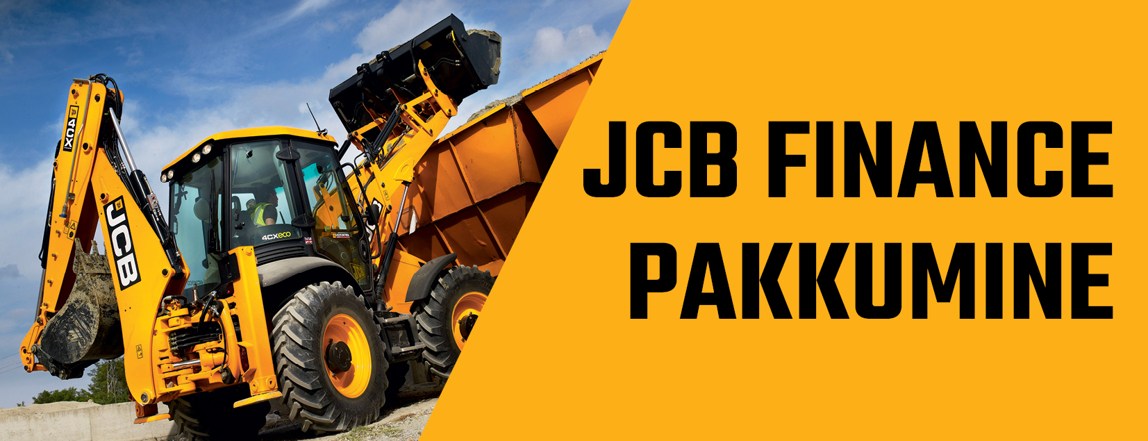JCB Finance pakkumine