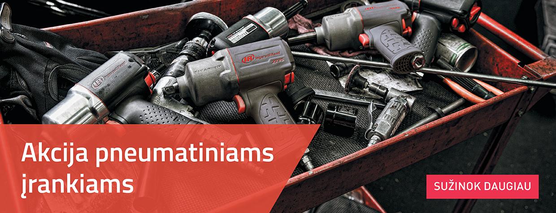 Pneumatiniai įrankiai 2019