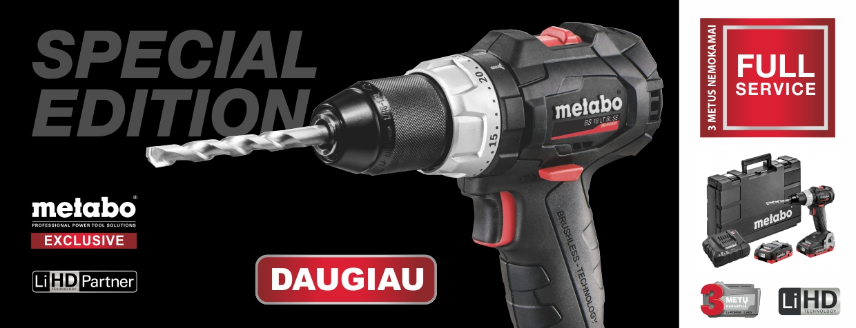 Metabo Special edition 2020 07