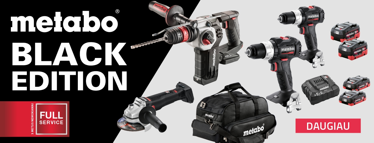 Metabo Black Edition 2020 12