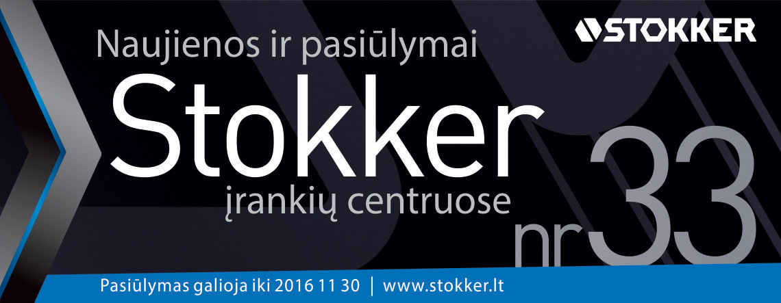 STOKKER 33 LAPKRITIS
