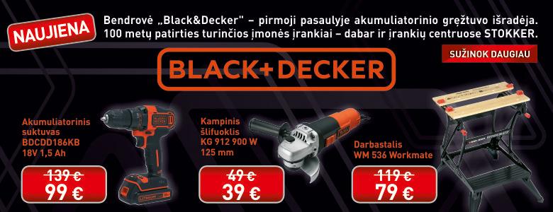 Black&Decker Stokker & Mecro technikonas