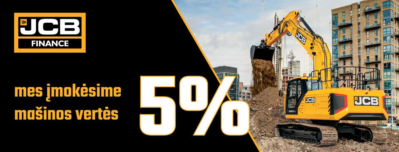 JCB Finance 5%