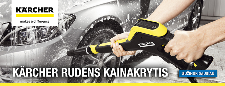 Karcher ruduo