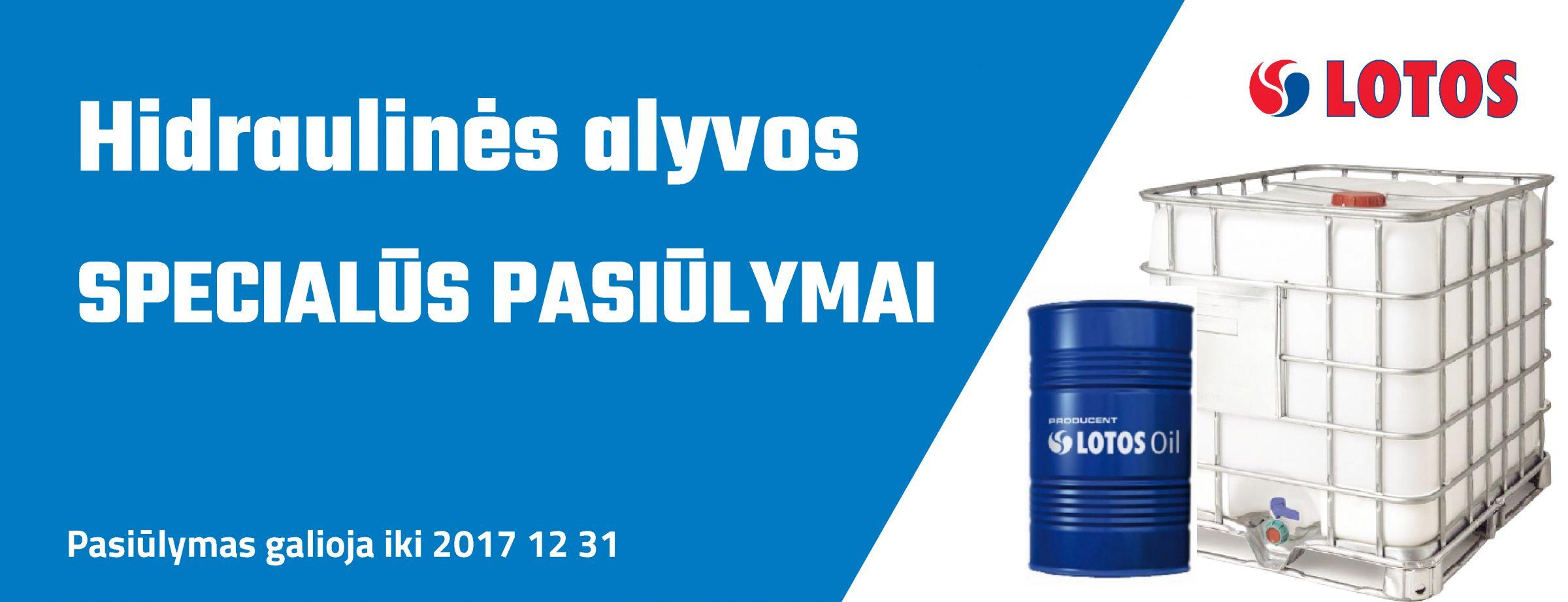 LOTOS hidraulinė alyva