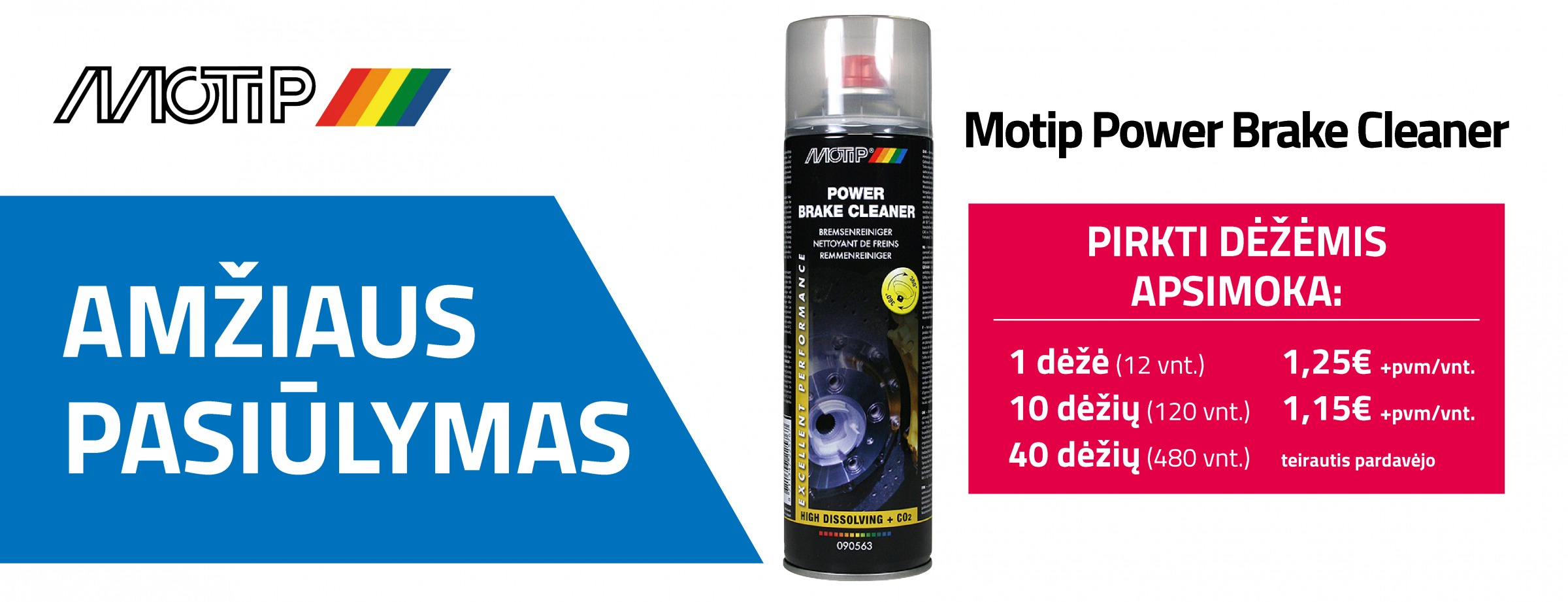 Motip Power Brake Cleaner
