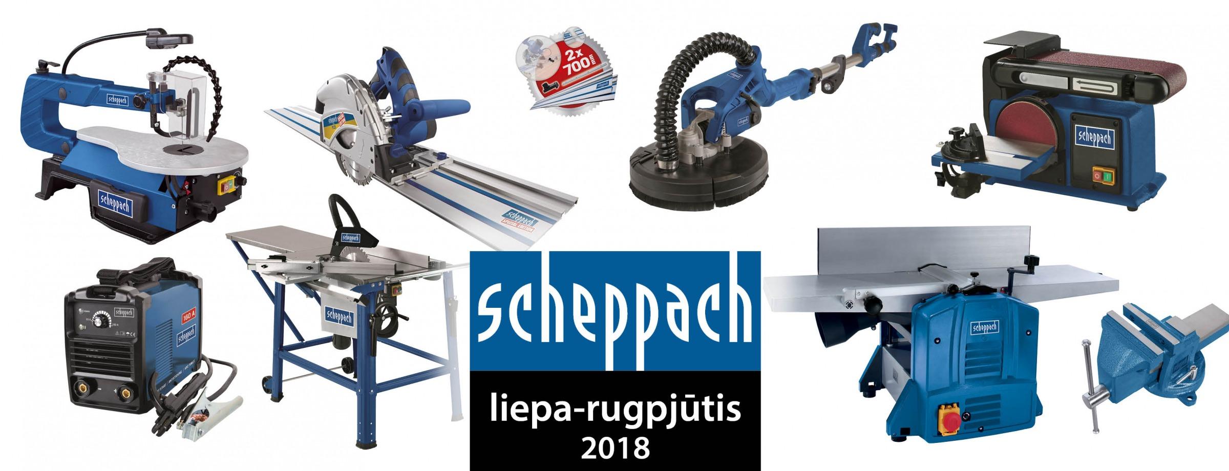 Scheppach tik didmena