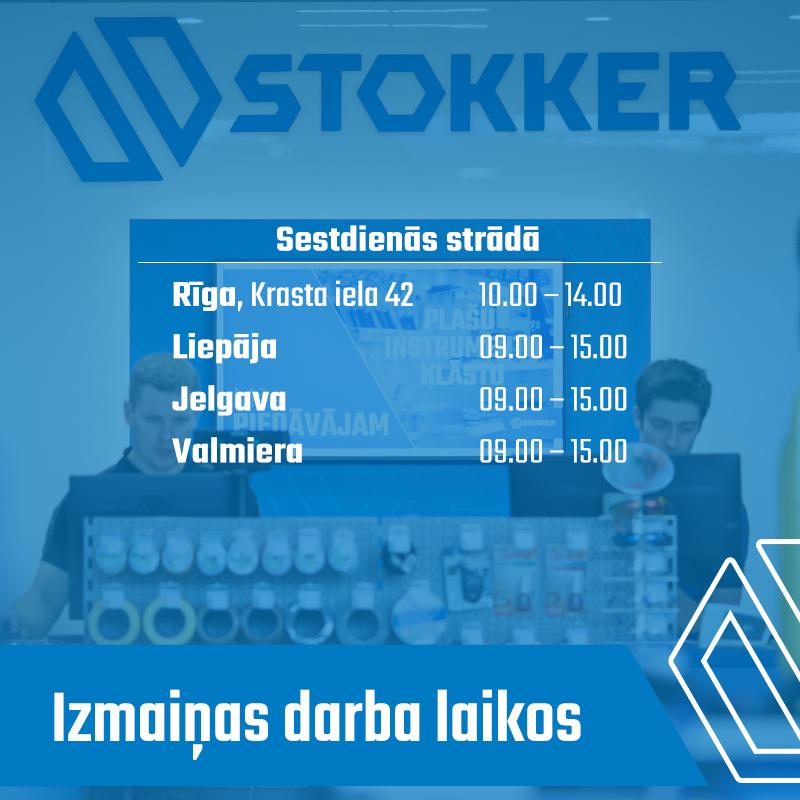 Stokker centru darba laiki