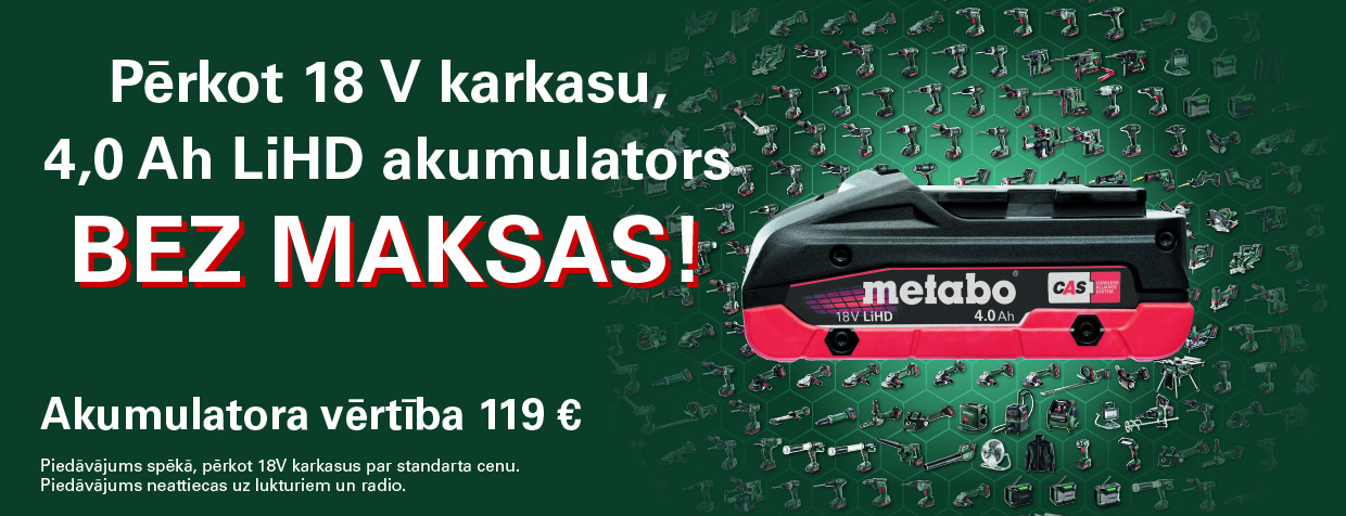 Metabo+akumulators+bez+maksas