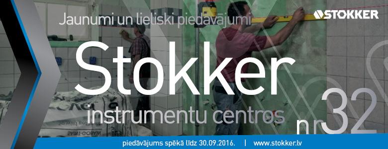 Jaunumi un lieliski piedāvājumi STOKKER centros