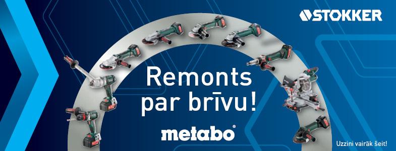 Metabo remonts par brīvu