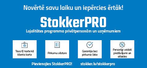 Stokker Pro lojalitātes programma