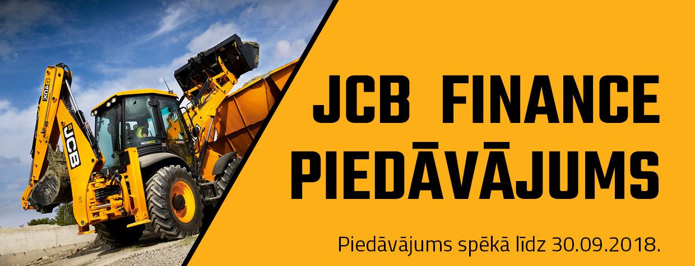 JCB Finance piedāvājums