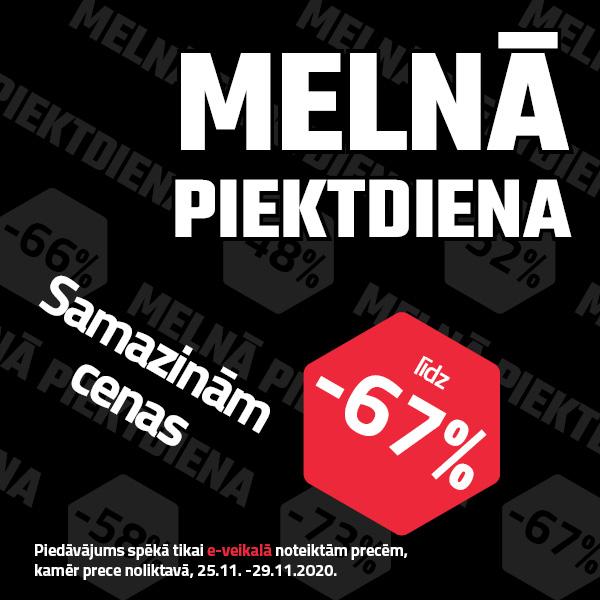 Meln%C4%81+piektdiena+2020+popup