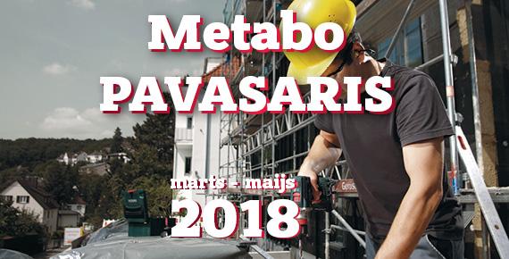 METABO pavasara akcija 2018