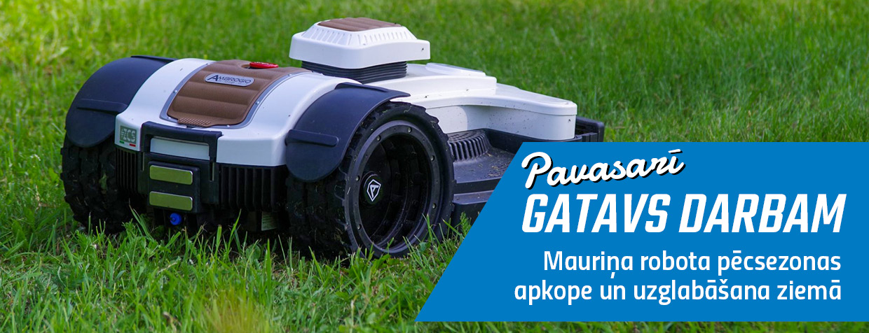 Mauriņa robota apkope