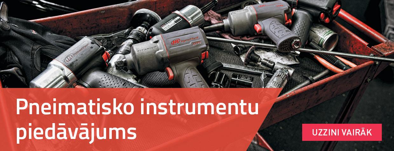 Pneimatisko instrumentu piedāvājums