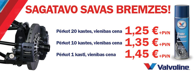 Valvoline brake cleaner 2018